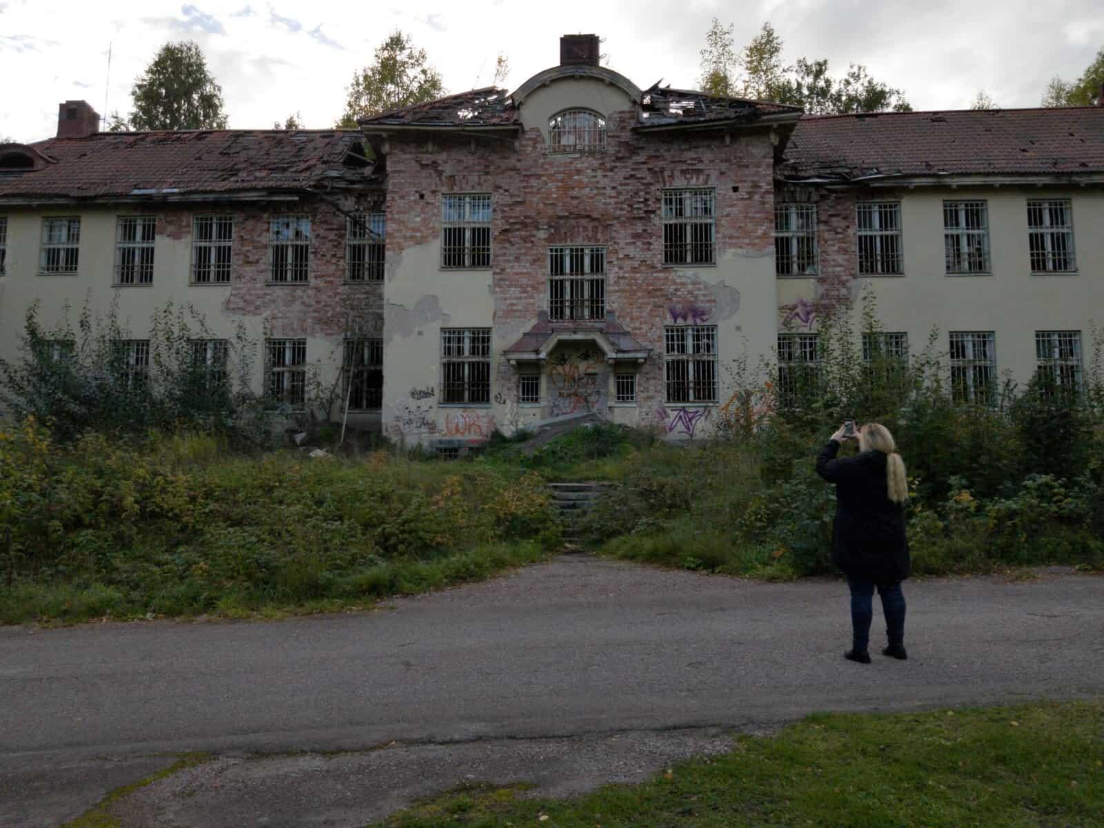 Säters gamla mentalsjukhus
