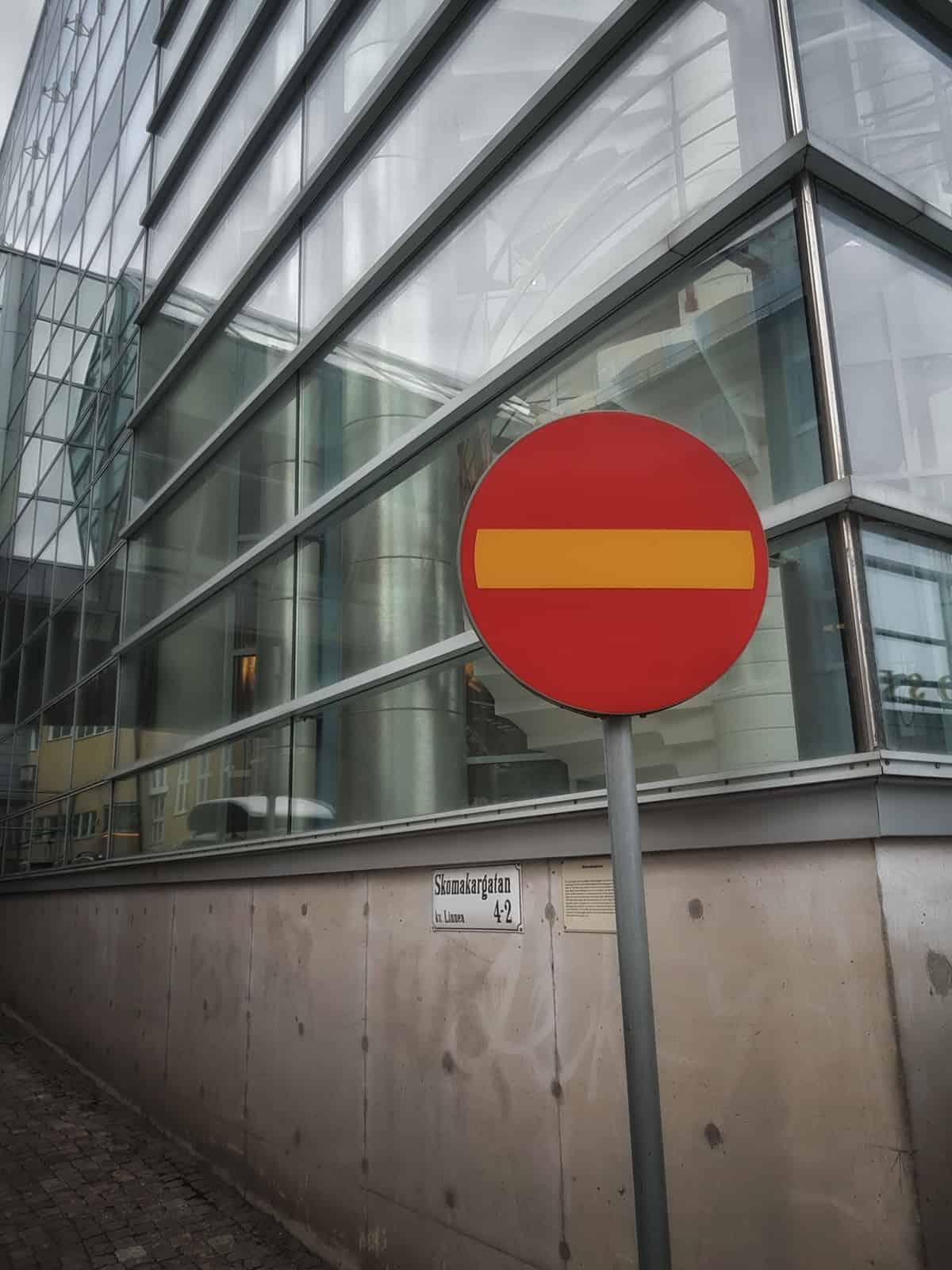 Vägmärke Västerås - Taxi