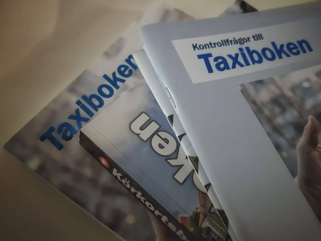 Studielitteratur Taxi - Taxiboken