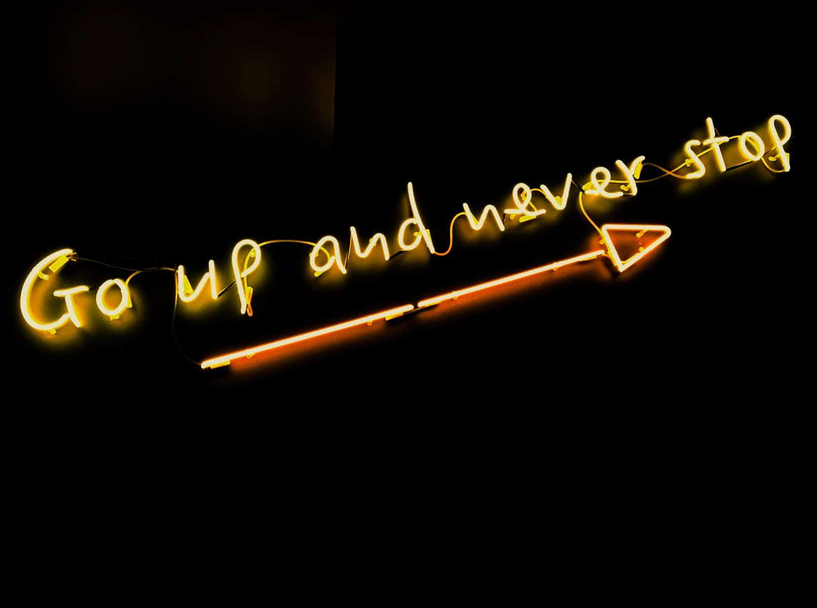 Inspiration - Go up and never stop